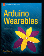Cover of Arduino Wearables