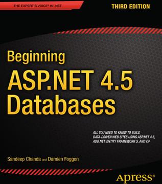 Beginning ASP.NET 4.5 Databases, Third Edition