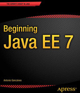 Cover of Beginning Java EE 7