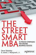 Cover of The Street Smart MBA: 10 Proven Strategies for Driving Business Success