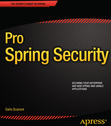 Cover of Pro Spring Security