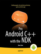 Cover of Pro Android C++ with the NDK