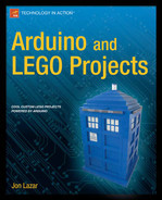 Cover of Arduino and LEGO Projects