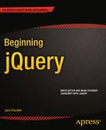 Cover of Beginning jQuery