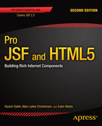 Cover of Pro JSF and HTML5: Building Rich Internet Components, Second Edition