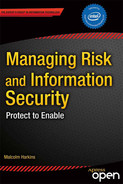 Cover of Managing Risk and Information Security: Protect to Enable