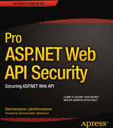 Cover of Pro ASP.NET Web API Security: Securing ASP.NET Web API