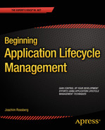 Cover of Beginning Application Lifecycle Management