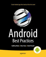 Cover of Android Best Practices