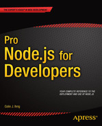 Cover of Pro Node.js for Developers