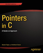 Cover of Pointers in C: A Hands on Approach