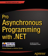 Cover of Pro Asynchronous Programming with .NET