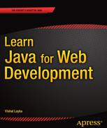 Cover of Learn Java for Web Development: Modern Java Web Development