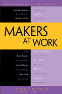 Cover of Makers at Work: Folks Reinventing the World One Object or Idea at a Time