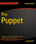 Cover of Pro Puppet, Second Edition