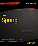 Cover of Pro Spring, Fourth Edition