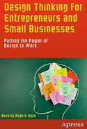 Cover of Design Thinking for Entrepreneurs and Small Businesses: Putting the Power of Design to Work