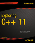 Cover of Exploring C++ 11, Second Edition