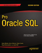 Cover of Pro Oracle SQL, Second Edition