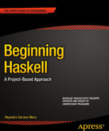 Cover of Beginning Haskell A Project-Based Approach