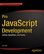 Cover of Pro JavaScript Development: Coding, Capabilities, and Tooling