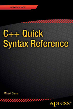 C++ Quick Syntax Reference
