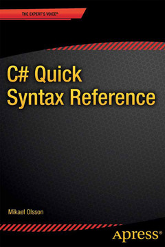 C# Quick Syntax Reference