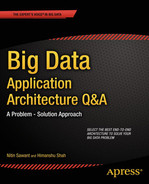 Cover of Big Data Application Architecture Q&A: A Problem - Solution Approach