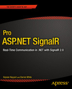 Cover of Pro ASP.NET SignalR: Real-Time Communication in .NET with SignalR 2.1