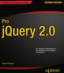 Pro jQuery 2.0, Second Edition