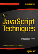 Cover of Pro JavaScript Techniques, Second Edition