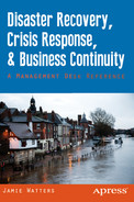 Cover of Disaster Recovery, Crisis Response, and Business Continuity: A Management Desk Reference