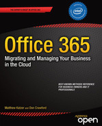 Cover of Office 365: Migrating and Managing Your Business in the Cloud
