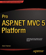 Cover of Pro ASP.NET MVC 5 Platform