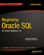 Cover of Beginning Oracle SQL: for Oracle Database 12c, Third Edition