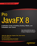 Cover of Pro JavaFX 8