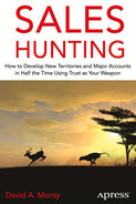 Cover of Sales Hunting: How to Develop New Territories and Major Accounts in Half the Time Using Trust as Your Weapon
