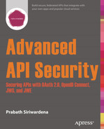 Cover of Advanced API Security: Securing APIs with OAuth 2.0, OpenID Connect, JWS, and JWE