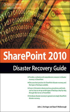 SharePoint® 2010 Disaster Recovery Guide