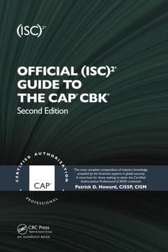 Official (ISC)2 Guide to the CAP CBK, 2nd Edition