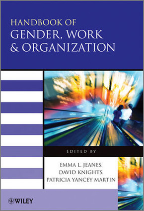 Handbook of Gender, Work, and Organization