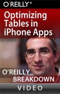 Cover image for Optimizing Tables in iPhone Apps
