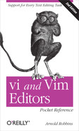 Cover of vi and Vim Editors Pocket Reference, 2nd Edition