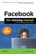 Cover of Facebook: The Missing Manual, 3rd Edition
