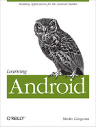 Cover image for Learning Android