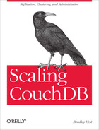 Cover image for Scaling CouchDB