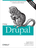Cover image for Using Drupal, 2nd Edition