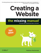 Cover image for Creating a Website: The Missing Manual, 3rd Edition