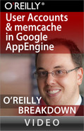 Cover image for User Accounts and memcache in Google AppEngine