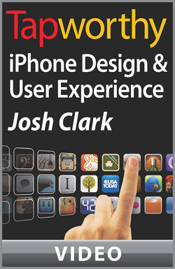 Tapworthy iPhone Design and User Experience